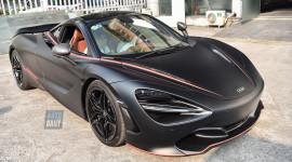 Ảnh chi tiết McLaren 720S màu độc tại Hà Nội