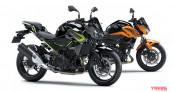 Kawasaki Z400 và Z250 2020 trình làng với diện mạo mới ấn tượng hơn