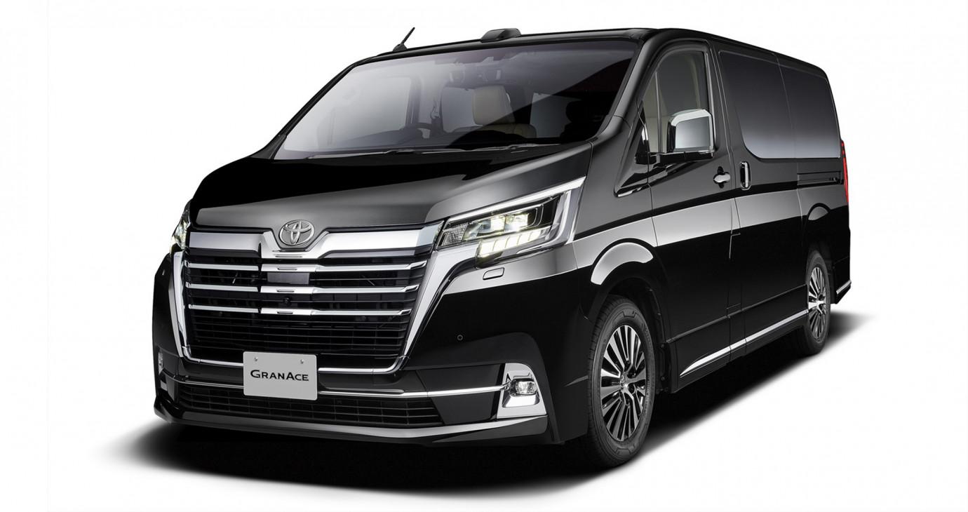 MPV hạng sang Toyota GranAce 2020 lộ diện trước thềm Tokyo Motor Show