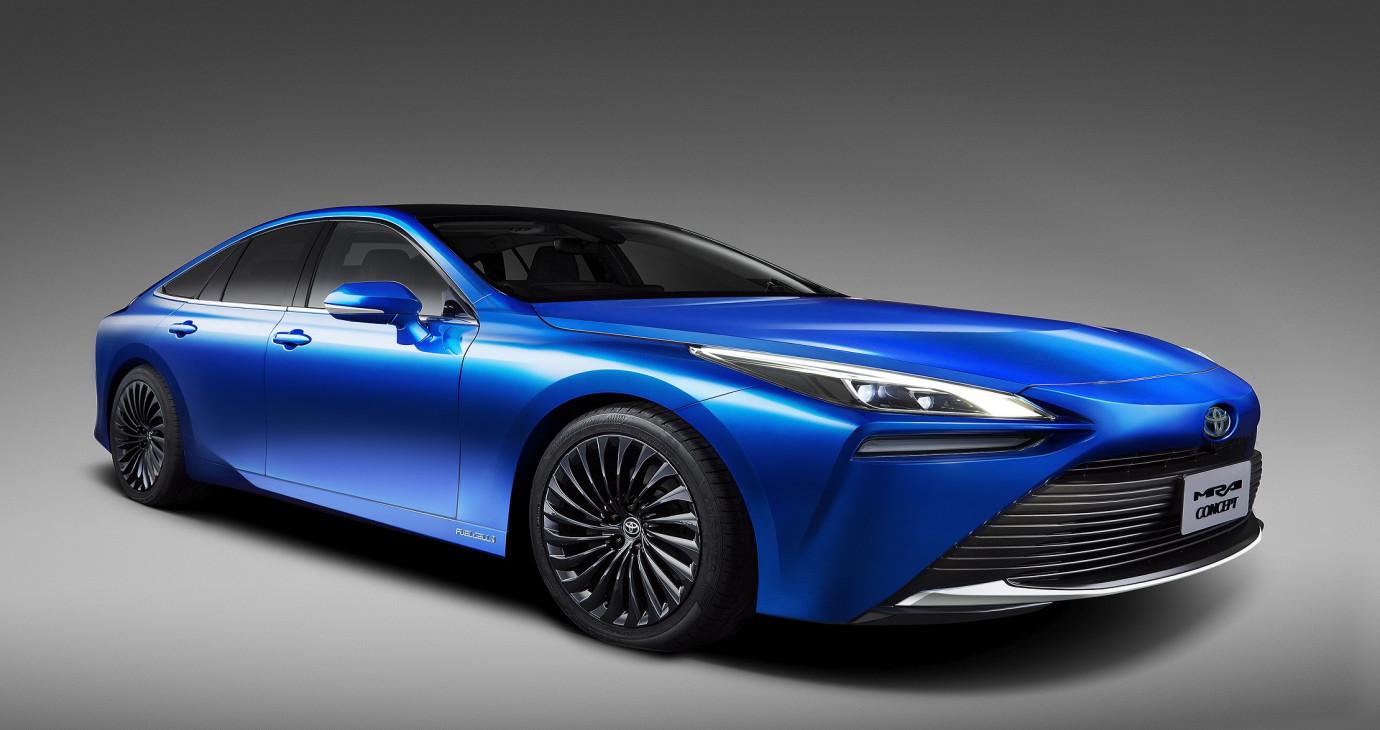 Toyota Mirai concept thế hệ mới sẽ ra mắt tại Triển lãm ô tô Tokyo 2019