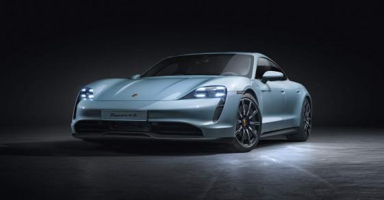 Porsche Taycan 4S ra mắt, giá từ 103.800 USD