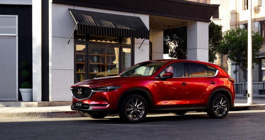 """""""Bạn thân"""" New Mazda CX-5 ở Úc"""