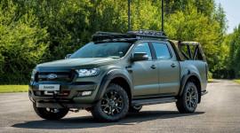 Ford Ranger hầm hố hơn với bản độ chống đạn