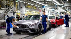 Mercedes-AMG A45 và CLA45 2020 bắt đầu đi vào sản xuất