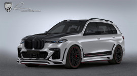 BMW X7 hầm hố hơn với gói độ của Lumma Design