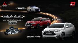 Bộ 3 xe Mitsubishi bản đặc biệt ra mắt tại Việt Nam