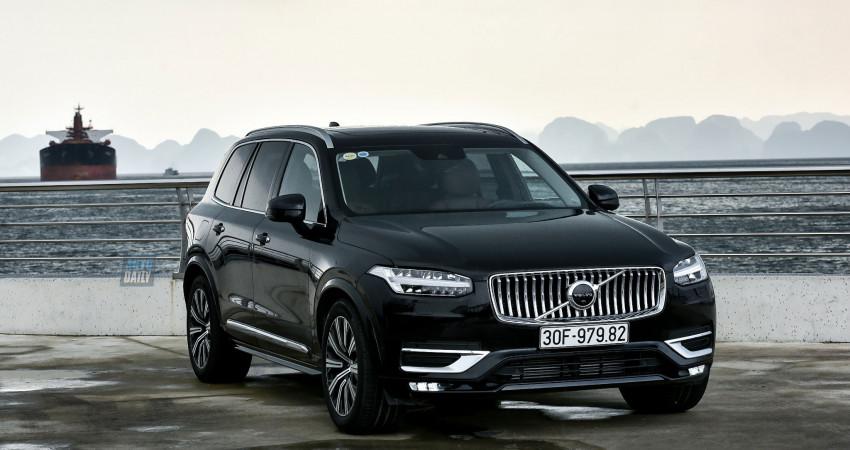 Đánh giá Volvo XC90 Inscription giá 4 tỷ đồng
