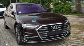 """Audi A8L mới lộ diện trước giờ """"G"""" Triển lãm Ô tô Việt Nam 2019"""