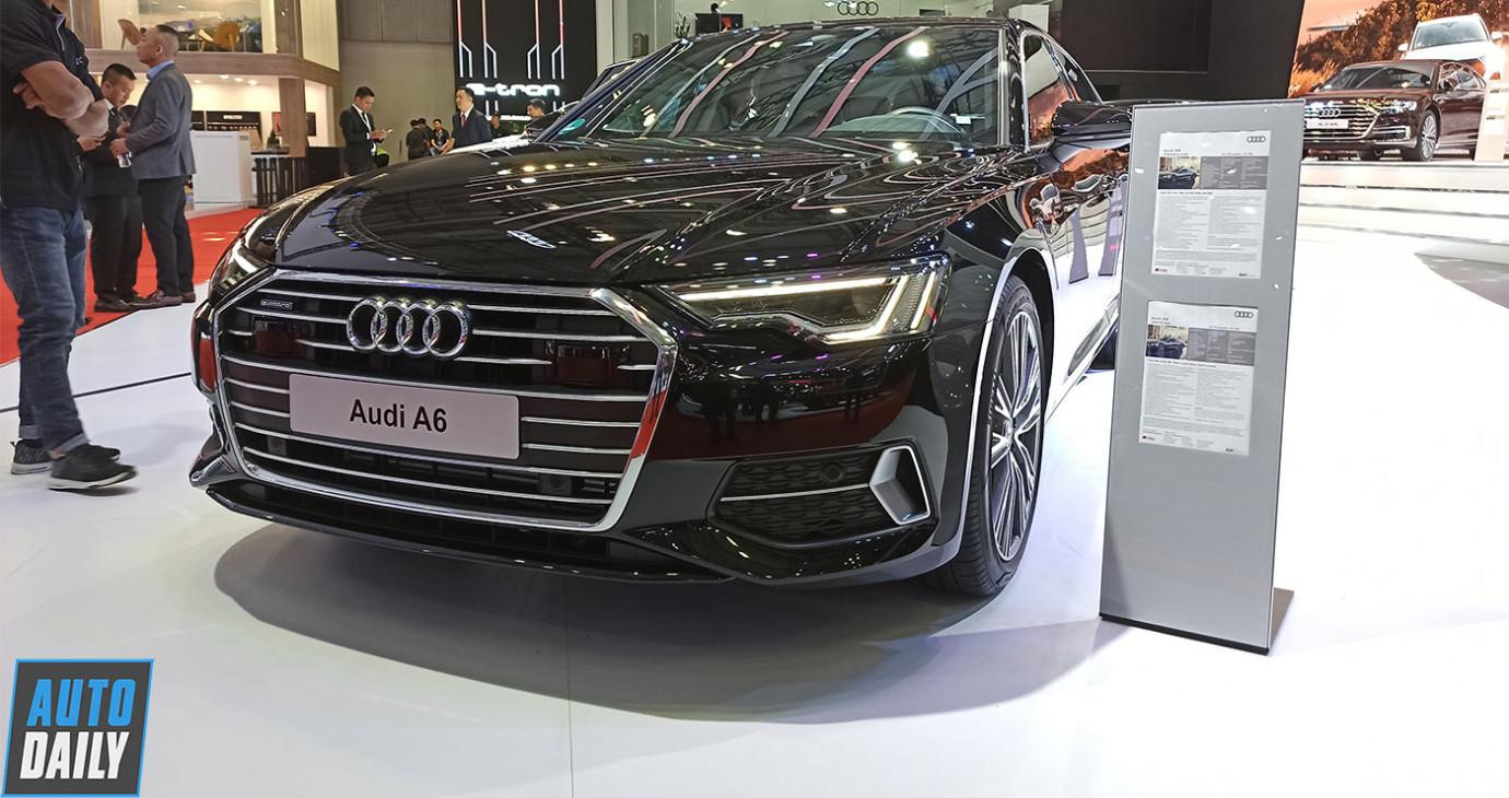 Khám phá Audi A6 2019 tại Triển lãm Ô tô Việt Nam 2019