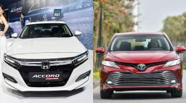 Chênh gần 100 triệu, chọn Honda Accord 2019 hay Toyota Camry 2019?