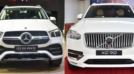 Hơn 4 tỷ đồng, chọn Volvo XC90 hay Mercedes-Benz GLE 450?