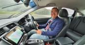 Test Honda CR-V trong trường đua và thử công nghệ Honda Sensing trời mưa bão