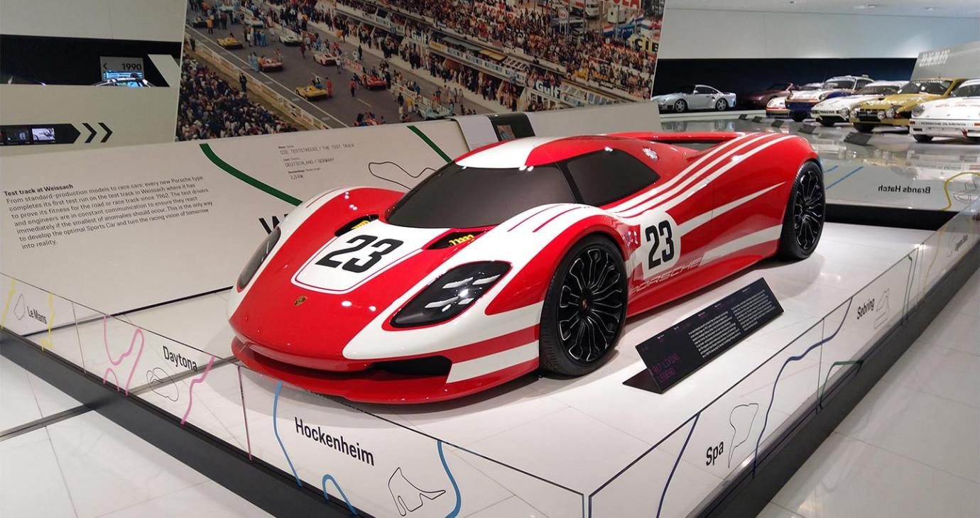 Khám phá bảo tàng Porsche, ngắm nhiều tuyệt phẩm