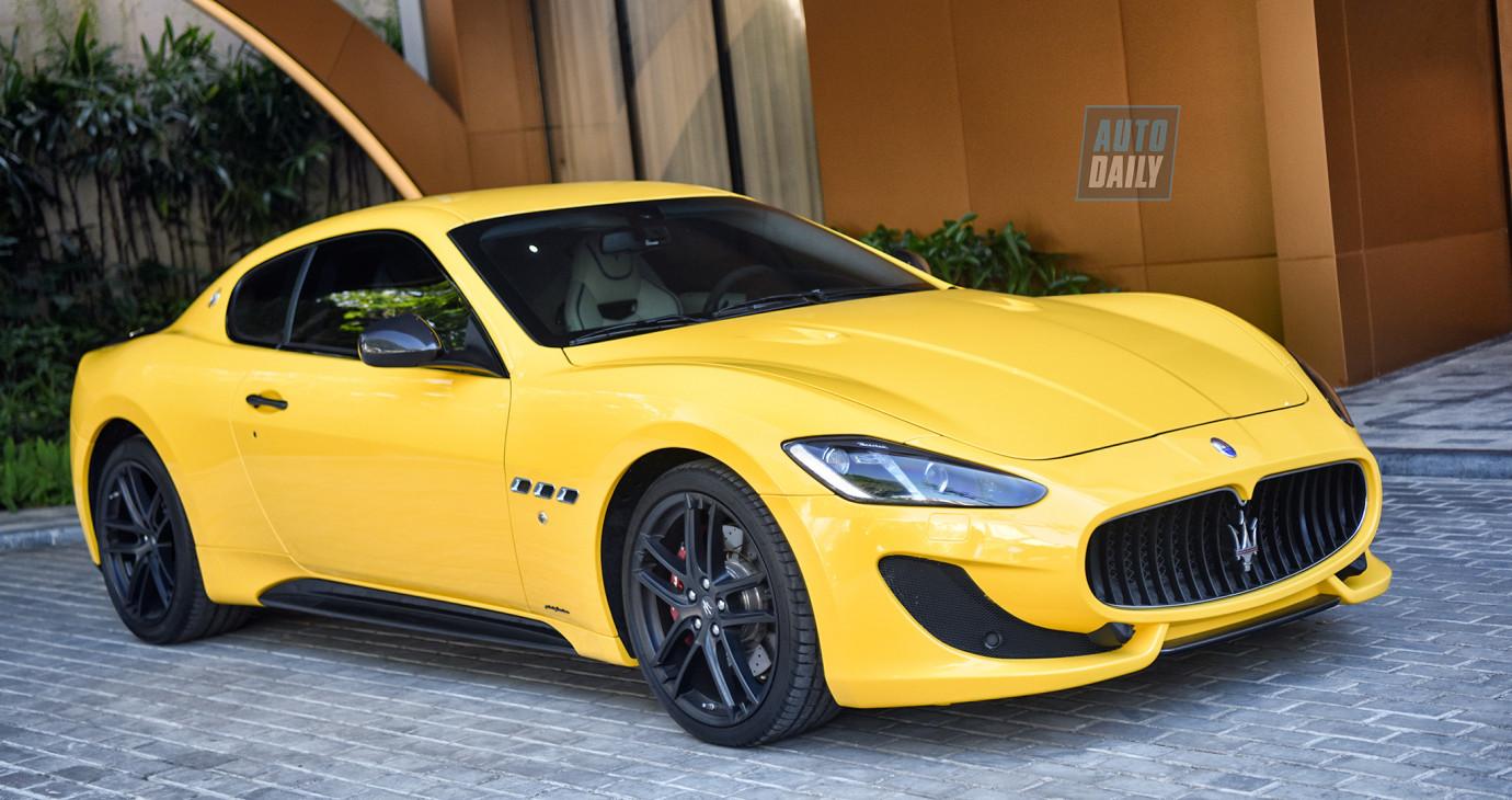 Ảnh chi tiết Maserati GranTurismo Sport siêu lướt giá gần 8 tỷ