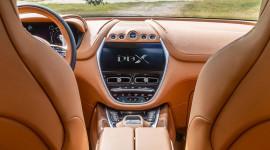 Siêu SUV Aston Martin DBX lộ nội thất, chốt giá từ 189.900 USD