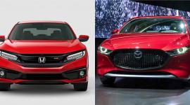 Hơn 900 triệu đồng, chọn Mazda3 sedan 2019 hay Honda Civic RS 2019?