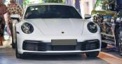 Cận cảnh Porsche 911 Carrera S 2020 của dân chơi Cường đô la chạy xuyên Việt