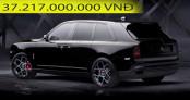 Rolls-Royce Cullinan Black Badge chính hãng giá hơn 37 tỷ tại Việt Nam