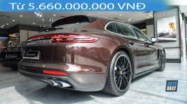 Cận cảnh Porsche Panamera 4 Sport Turismo giá từ 5,66 tỷ đồng
