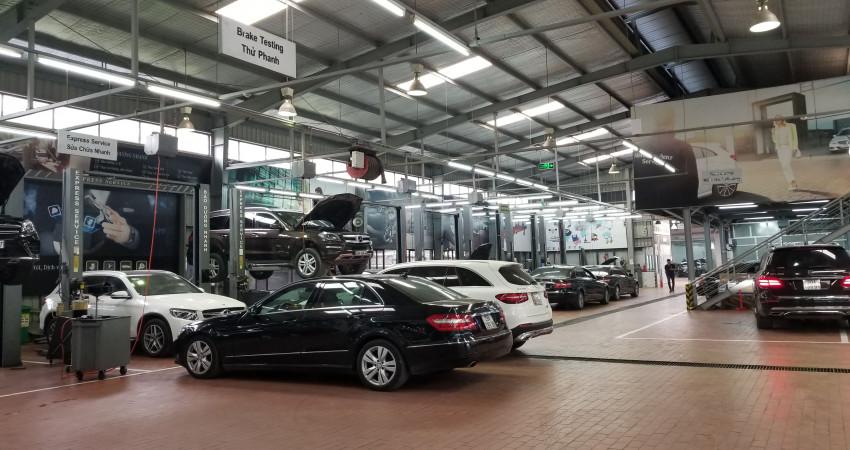 Mercedes-Benz Việt Nam ưu đãi cho khách hàng bảo dưỡng xe
