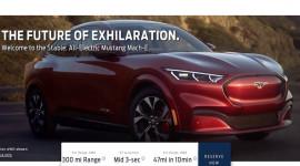 Ford Mustang Mach-E 2021 rò rỉ hình ảnh trước ngày ra mắt