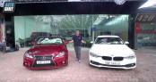 Hơn 1 tỷ đồng, chọn Lexus IS 250C 2009 hay BMW 320i 2015?