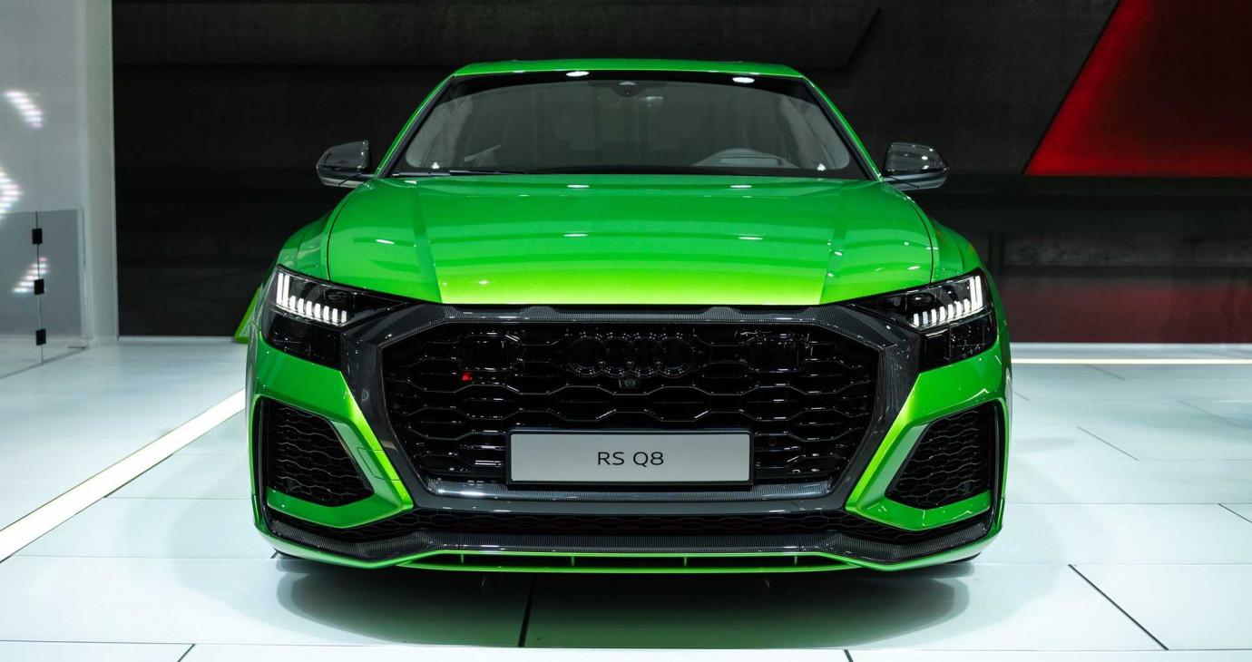 Siêu SUV Audi RS Q8 nhanh như Lamborghini Urus ra mắt
