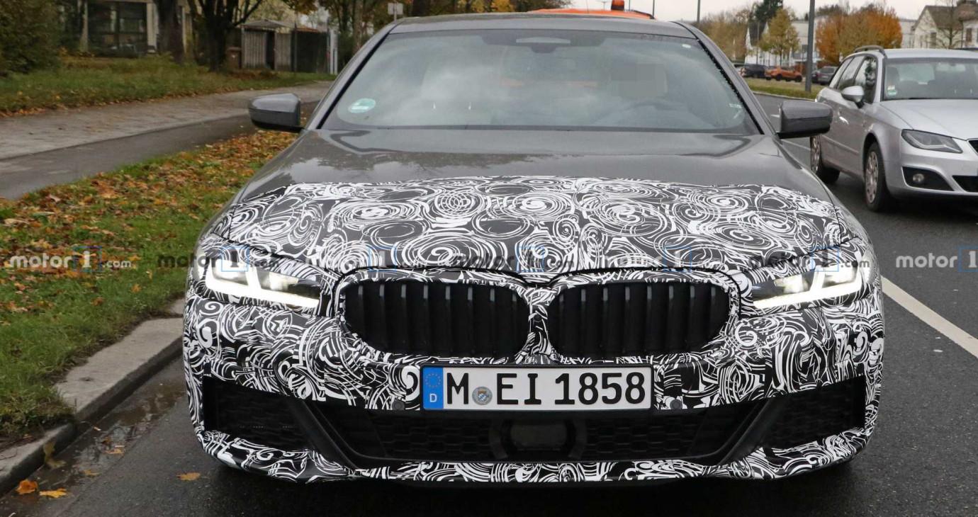 BMW 5 Series M Sport 2021 lộ diện trên đường chạy thử
