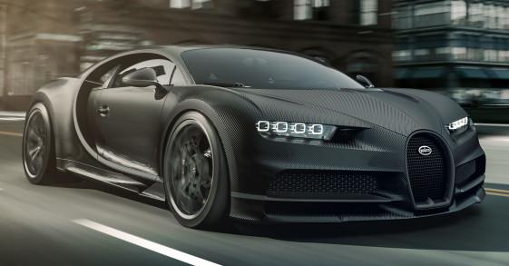 Siêu phẩm Bugatti Chiron Noire sản xuất 20 chiếc giá 3 triệu Euro
