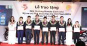 Honda Việt Nam tổ chức Lễ Trao tặng Giải thưởng Honda Y-E-S 2019