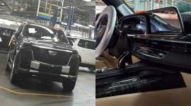 Cadillac Escalade 2021 lần đầu lộ diện, lột xác hoàn toàn