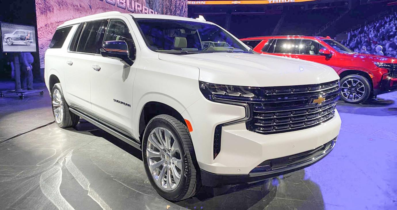 Chevrolet Suburban 2021 chính thức ra mắt, thiết kế lột xác