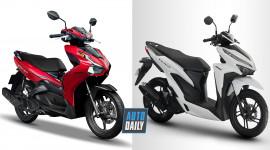55 triệu, chọn Honda Air Blade 150 2020 hay Vario 150 2019?