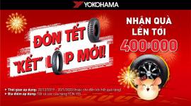 """Yokohama tung khuyến mãi lớn với chương trình """"Đón Tết, Kết lốp mới"""""""