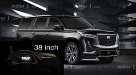 Cadillac Escalade 2021 sẽ sở hữu màn hình OLED cong 38 inch đầu tiên trên thế giới