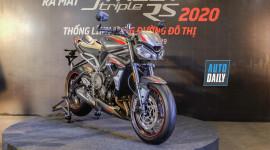 Cận cảnh Triumph Street Triple RS 2020 đầu tiền tại Việt Nam