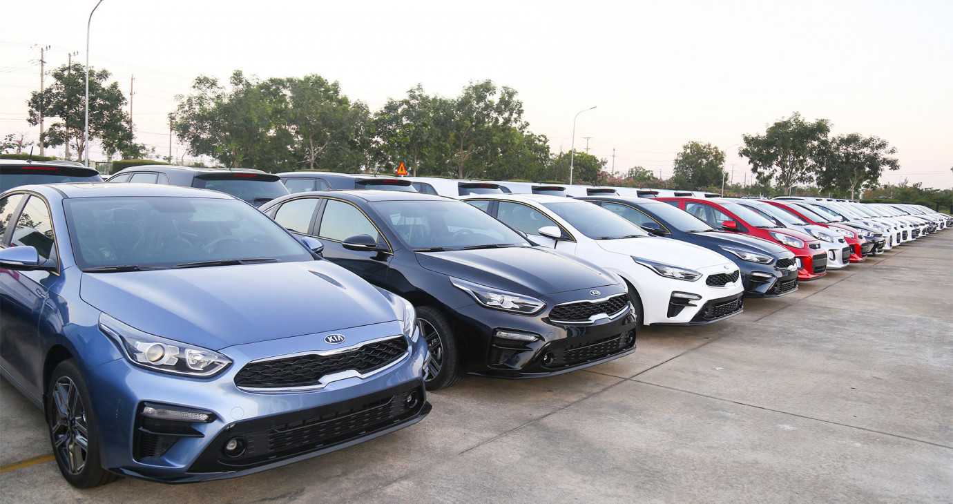 Thaco xuất khẩu xe Kia Cerato sang Myanmar