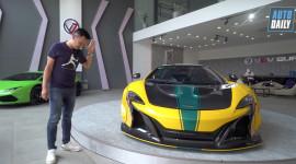 Đánh giá, nẹt pô siêu xe McLaren 650S Spider 15 tỷ, độ Liberty Walk