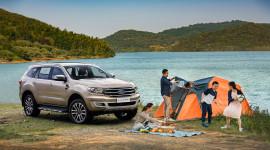 Hô biến Ford Everest thành một chiếc trại đúng chuẩn