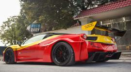 Ảnh chi tiết Ferrari 458 Italia độ LB-Silhouette Works khủng nhất Việt Nam