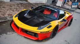 Siêu phẩm Ferrari 458 Italia độ Liberty Walk LB-Silhouette Works khủng nhất Việt Nam
