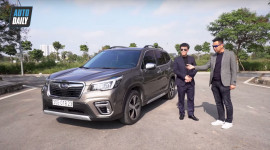 Người dùng đánh giá Subaru Forester AWD X-mode 2020
