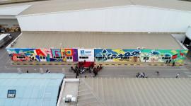 Khánh thành bức tranh tường tại nhà máy Piaggio Việt Nam