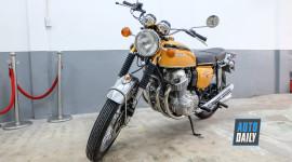 """Chiêm ngưỡng """"huyền thoại"""" Honda CB750 Four 1969 tại Sài Gòn"""
