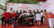 Honda Việt Nam bàn giao xe cho các tuyển thủ đoạt HCV Seagames 30