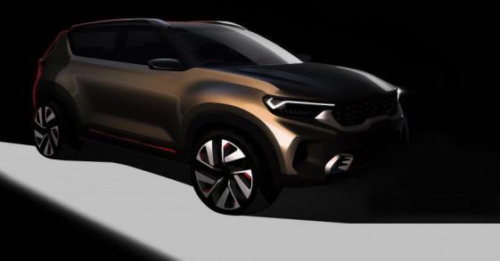Kia nhá hàng mẫu concept SUV cỡ nhỏ mới với thiết kế cực hầm hố