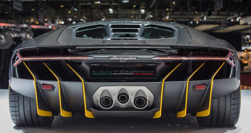 Siêu xe Lamborghini Centenario 100 tỷ và 5 điều đặc biệt