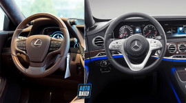 Lexus LS500h và Mercedes S450 Maybach - Đọ nội thất siêu sang và tiện ích