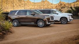 Chiêm ngưỡng KHỦNG LONG MỸ Cadillac Escalade 2021 với nội thất siêu thông minh