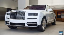 Ảnh chi tiết Rolls-Royce Cullinan 2020 chính hãng tại Việt Nam